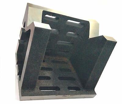 Precision Graded Caste Iron Vee Angle Plates-heavy Duty6x6x8150x150x200mm
