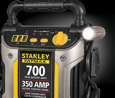 700 Amp Peak Jump Starter Portable Air Compressor Power Boos
