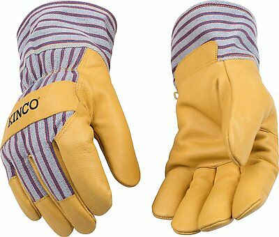 Kinco 1927 Lined Pigskin Leather Mens Work Gloves Winter Cold Garden Y-xxl New