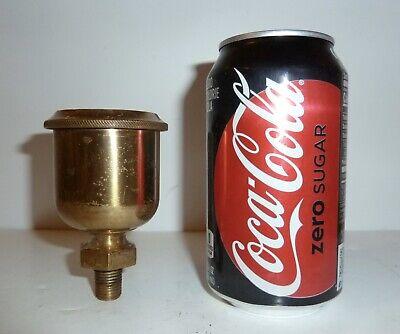 Antique Brass Steam Engine Oil Cup Hit Miss Engine