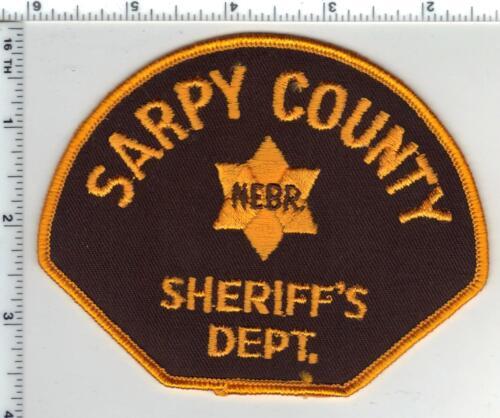 Sarpy County Sheriff (Nebraska) Shoulder Patch - new from the 1980
