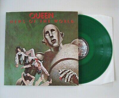 "QUEEN : News Of The World - Green Coloured 12"" Vinyl LP Album Studio Collection"