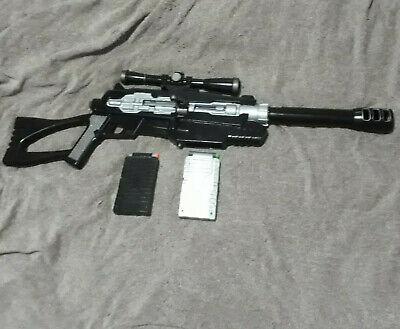 BuzzBee Ultra Master Tek Air Warrior custom Sniper Rifle 50CAL cosplay prop gun