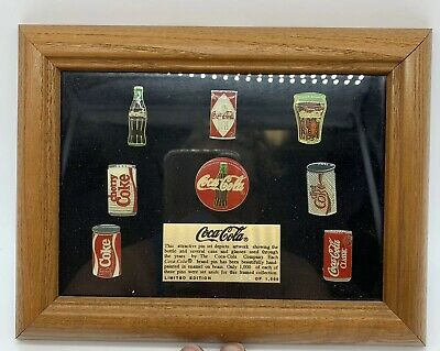 Coca Cola Pin Set Limited Edition 572 of 1000