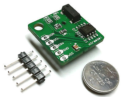 DS1307 Based Real Time Clock For Arduino I2C Tiny Size! 20x20mm For Any uControl on Rummage