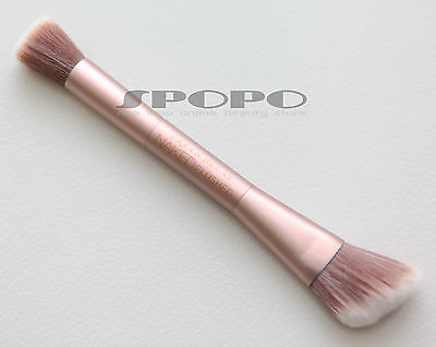 URBAN DECAY Naked Flushed Double Ended Brush Angled Blush/Stipple 100%Authentic