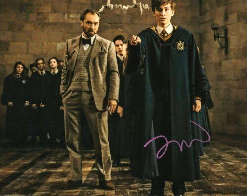 Jude Law Fantastic Beasts Autographed Signed 8x10 Photo COA CA30