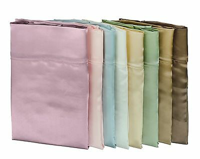 100% Mulberry Silk Pillowcases - Classic Charmeuse - 3 Sizes & 8 Colors