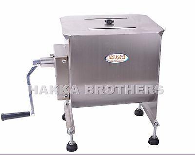Hakka Manual Meat Mixer 40 Pound 20 Liter Capacity Tank Commercial Food Mixers
