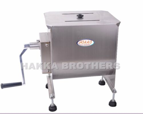 Hakka Manual Meat Mixer 40 Pound /20 Liter Capacity Tank Commercial Food Mixers