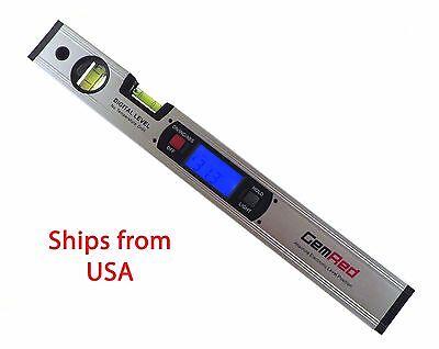 16 Digital Level Protractor Inclinometer W Magnetic Base Backlit Grlm