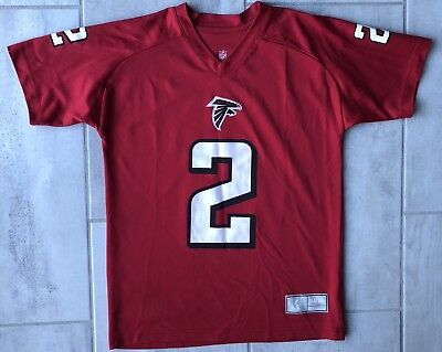 NFL Atlanta Falcons Authentic Jersey Matt Ryan  2 Red Youth Large 14 16 ef5f63111