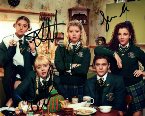 Derry Girls Nicola Coughlan Louisa Harland Autographed Signed 8x10 Photo COA