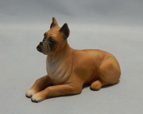 Vivian C. Made in Italy  Boxer Dog Figurine