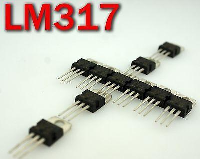 10 X Lm317t Lm317 Voltage Regulator Ic 1.2v To 37v 1.5a Ldo Power Supply 10 Pcs