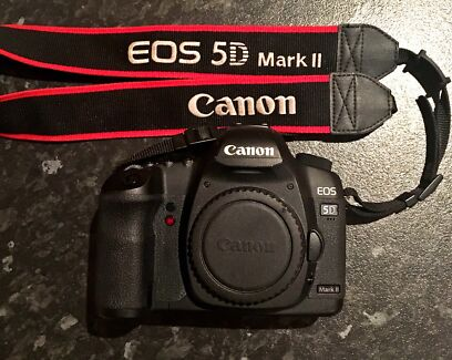 Canon 5D Mark 2 - Body and batteries
