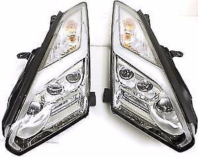Nissan 26010-62B2A & 26060-62B2A 2015+ R35 GTR Headlights (Pair)