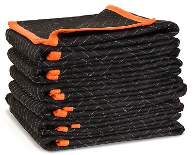 Wen 272406 72-inch By 40-inch Heavy Duty Padded Moving Blankets 6-pack