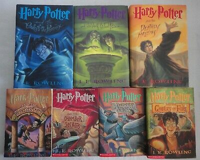 Harry Potter Series 7 Book Set by J.K. Rowling