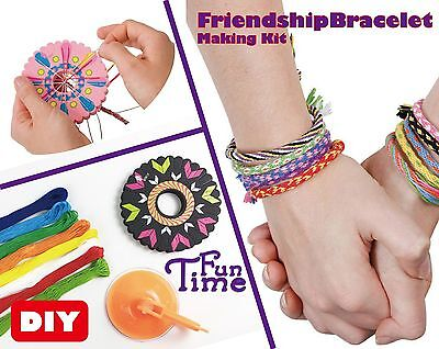 DIY Wear Friendship Wheel Bracelet maker craft activity kit](Friendship Bracelet Maker)