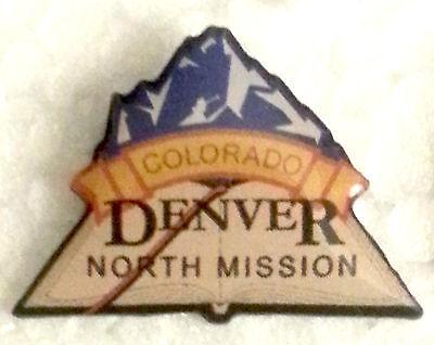 COLORADO DENVER NORTH MISSION Lapel Pin mormon (Mission Lapel Pin)
