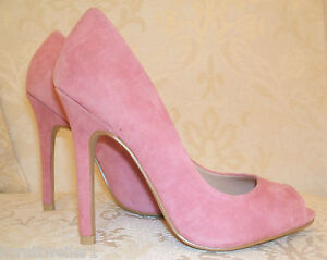 RRP £60 BNWB KURT GEIGER MISS KG SIZE 3 4 5 6 PINK MINT GREEN SUEDE COURT SHOES