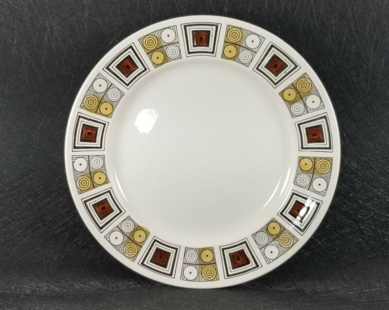Vintage Kathie Winkle Design for Broadhurst Rushstone Dinner Plate(s) England