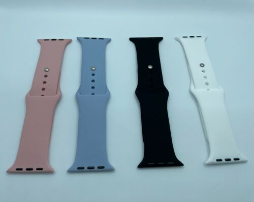 Silicone Band Strap for Apple Watch Series 1/2/3/4/5 iWatch Sports 38/40/42/44mm