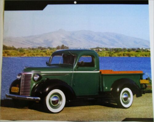1940 Chevrolet Pickup truck print (green & black)