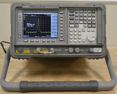Agilent Keysight E4405b Rf Spectrum Analyzer 9khz-13.2ghz Woptions Guaranteed