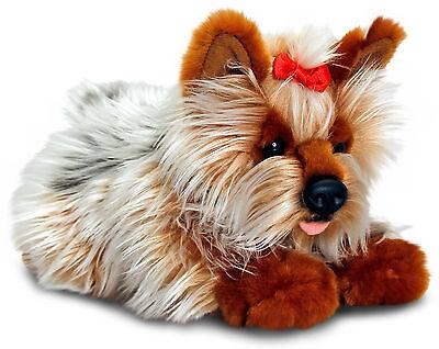 Plüschtier Hund Yorki Kuscheltier Keel Toys, Stofftier Plüsch Hund ca.30 cm