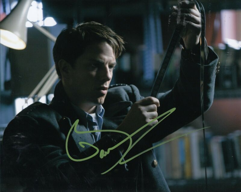 JOHN BARROWMAN signed *THE FLASH* ARROW TV SHOW 8X10 photo W/COA TORCHWOOD #2