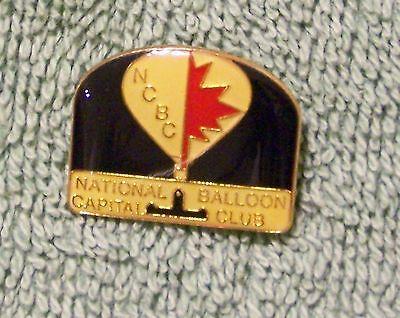 NCBC NATIONAL BALLOON CAPITAL CLUB BALLOON PIN