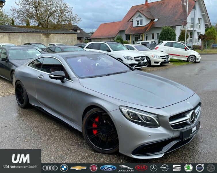 Mercedes-Benz S 63 AMG Coupe/DRIVER/BURMESTER/360°/DAB/PANO