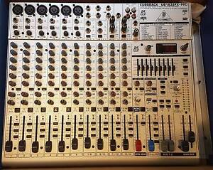 BEHRINGER UB1832FX PRO MIXER 14 LINE INPUTS 6 MIC PREAMPS 3 AUX North Turramurra Ku-ring-gai Area Preview