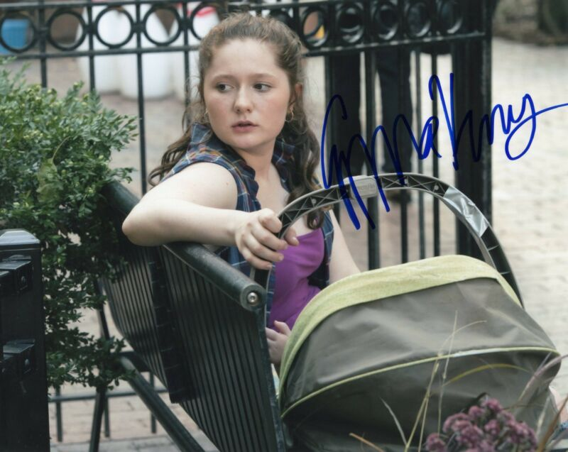 Emma Kenney Shameless Debbie Gallagher Signed 8x10 Photo w/COA #9
