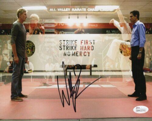 "William Zabka Autograph Signed 8x10 Photo - Cobra Kai ""Johnny Lawrence""(JSA COA)"