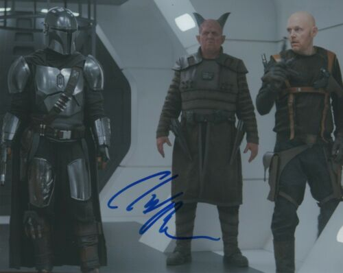 Clancy Brown The Mandalorian Autographed Signed 8x10 Photo COA 2020-1