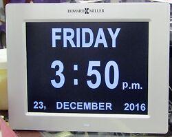625-632 NEW HOWARD MILLER TABLE/WALL DIGITAL CLOCK CALLED MEMORY