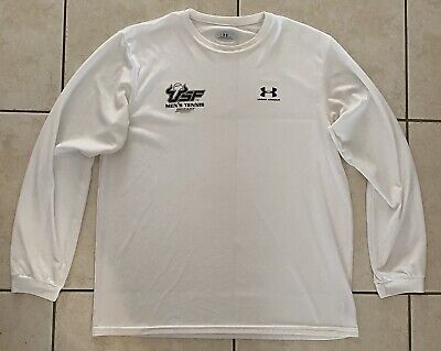 USF South Florida Bulls Tennis Under Armour Iso-Chill Long Sleeve Shirt Men's XL