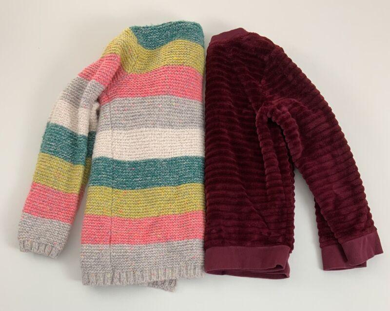 Girls Clothing Lot Size Medium 7 / 8  Cardigan Sweater Sweatshirt Cat & Jack