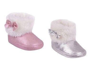 BABYSTIEFEL Baby Kinderwagen Schuhe gefüttert Stiefel Winterstiefel für Mädchen