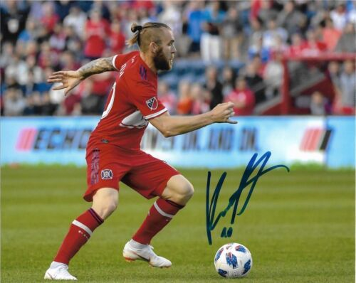 Chicago Fire Aleksandar Katai Autographed Signed MLS 8x10 COA #4