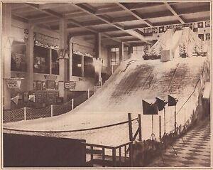 G2265-France-Piste-de-ski-et-tremplin-de-saut-de-l-039-exposition-1930-old-print
