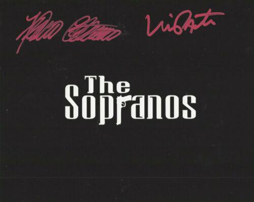 SOPRANOS Furio & Vinniy Pastore (Big Pussy) autographed 8x10 Soprano's  photo