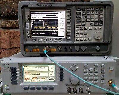 Hpagilent E4407b 9-options Preamp Ext Mixing 26ghz Spectrum Analyzer Esa-e