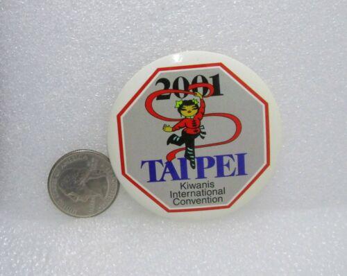 2001 Kiwanis International Convention Taipei Pin