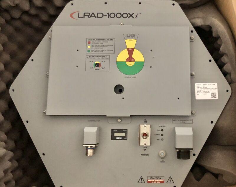 LRAD 1000Xi Driver, Long Range Accoustic Device, Crowd Control Device.