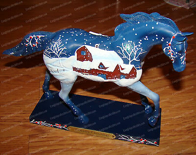 COUNTRY CHRISTMAS (Painted Ponies by Enesco, 4018403) 1E/0717 (Holiday, 2010)