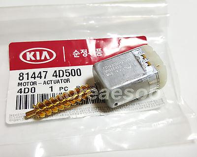 OEM Genuine Parts Door Lock Actuator Motor For KIA Sedona 2006-2014 814474D500